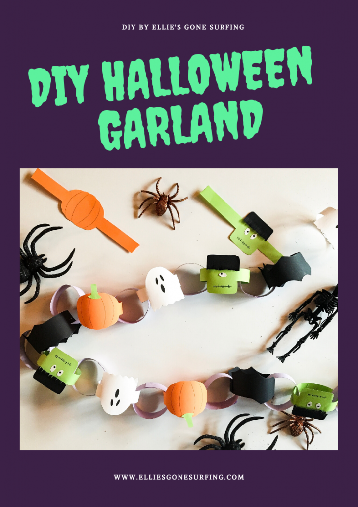 DIY Halloween garland