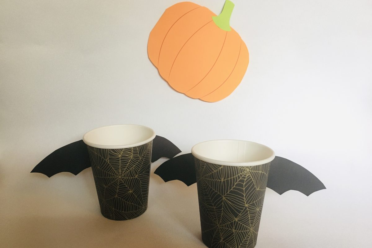 DIY: Halloween krus - flagermus